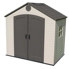 Lifetime 8 X 5 ft. Outdoor Storage Shed With Window - Swings and More