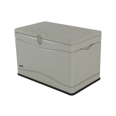 Lifetime 80 Gallon Outdoor Storage Box Beige - Swings and More