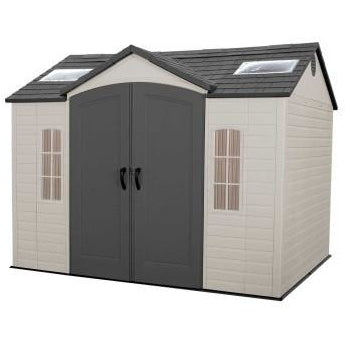 Lifetime 10 X 8 ft Outdoor Storage Shed - Swings and More