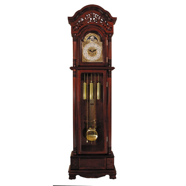 Acme Furniture Plainville Grandfather Clock Cherry