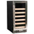 "Azure 15"" 30-Bottle Stainless Steel Door Single Zone Wine Cooler A115WC-S - Swings and More"