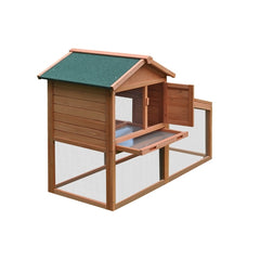 Multi Level Wooden Chicken Coop or Rabbit Hutch
