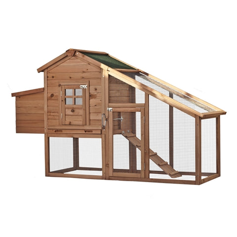 Multi Level Wooden Chicken Coop or Rabbit Hutch - Swings and More