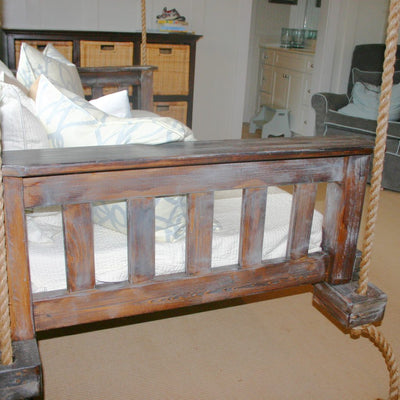 "Vintage Porch Company Swing Bed - ""Aunt Janie"" - Swings and More"