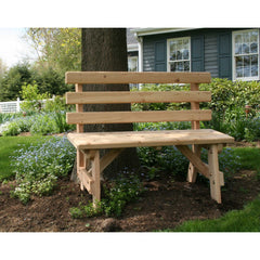 Creekvine Designs Cedar Backed Bench