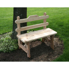 Creekvine Designs Cedar Tab Back Bench