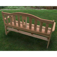 Creekvine Design Cedar Keyway Garden Bench