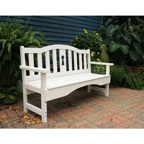Creekvine Design Cedar Keyway Garden Bench - Swings and More