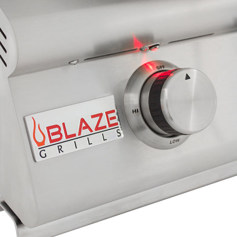 Blaze 32 Inch 4 Burner LTE Grill Built-In Propane Gas Grill with Lights - Swings and More