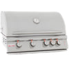 Image of Blaze 32 Inch 4 Burner LTE Grill Built-In Propane Gas Grill with Lights - Swings and More