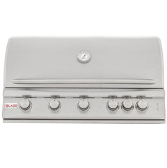 Blaze 40 Inch 5 Burner LTE Grill Built-In Natural Gas Grill with Lights