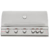 Image of Blaze 40 Inch 5 Burner LTE Grill Built-In Natural Gas Grill with Lights - Swings and More