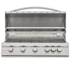 Image of Blaze 40 Inch 5 Burner LTE Grill Built-In Propane Gas Grill with Lights - Swings and More