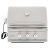 Image of Blaze 27 Inch 2 Burner Professional Built-In Propane Gas Grill - Swings and More