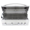 Image of Blaze 44 Inch 4 Burner Professional Built-In Propane Gas Grill - Swings and More