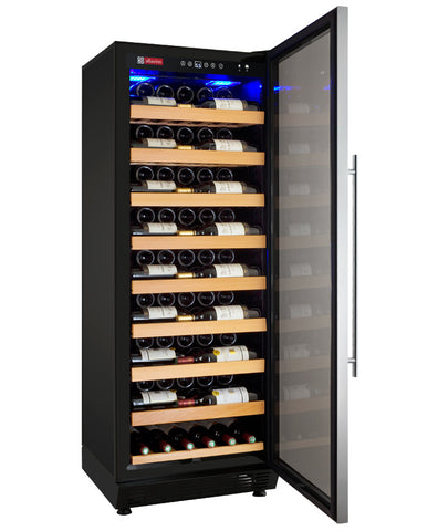 Allavino Vite Series 115 Bottle Single-Zone Wine Refrigerator - Stainless Door - Right Hinge YHWR115-1SRN - Swings and More