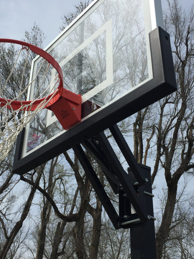 "First Team Champ II In Ground Adjustable Basketball Hoop 36""x48"""