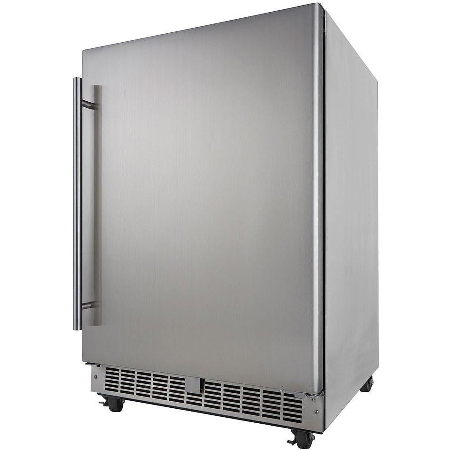 Danby Silhouette Professional Aragon 5.5 Cu. Ft. Outdoor Rated Refrigerator - Stainless Steel - Swings and More