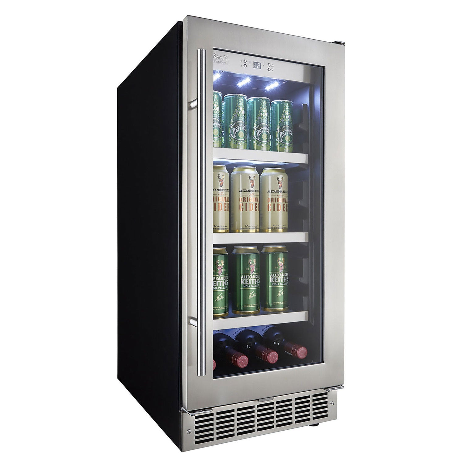 "Danby Silhouette Professional Piedmont 15"" Single Zone Built-In Beverage Center - Swings and More"