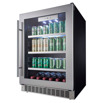 "Danby Silhouette Professional Saxony 24"" Single Zone Built-In Beverage Center - Swings and More"