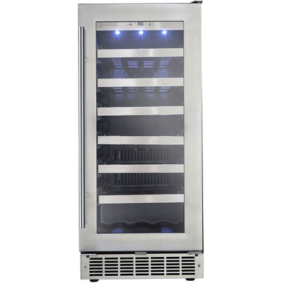 Danby Silhouette Professional Tuscany 28 Bottle Built-In Wine Cooler - Swings and More
