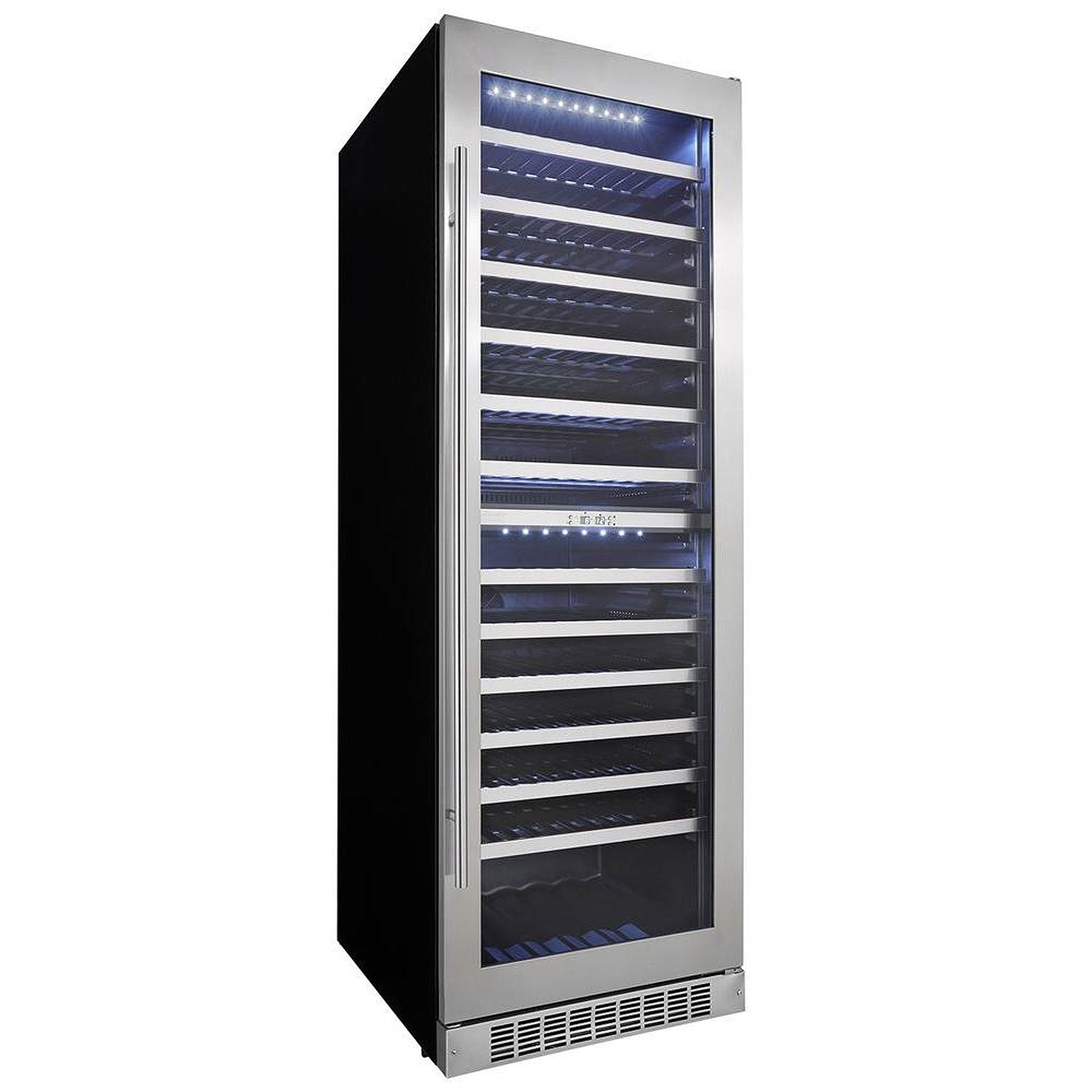 Danby Silhouette Professional Bordeaux 129-Bottle Built-in Wine Cellar - Swings and More