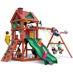 Double Down Gorilla Playset - Swings and More