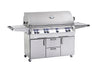 Image of Fire Magic Echelon E1060s Portable Grill on Cart With Single Burner - Swings and More