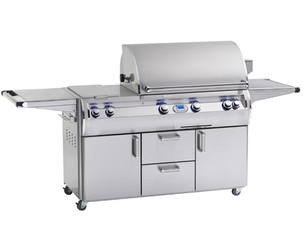 Fire Magic Echelon E790s Portable Grill on Cart With Double Burner - Swings and More