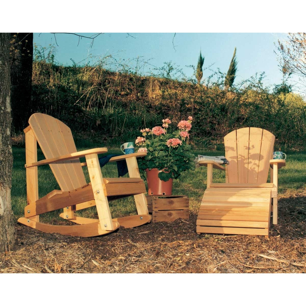 Creekvine Designs Cedar Adirondack Collection - Swings and More