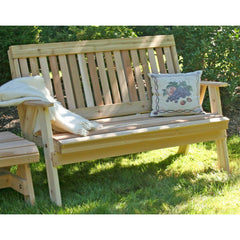 Creekvine Dedigns Cedar Countryside Garden Bench