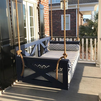 The Modified Cooper River Porch Swing Bed - Swings and More