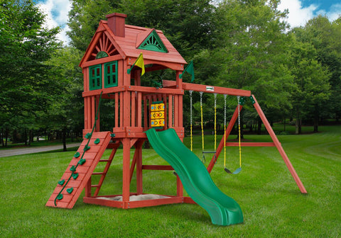Nantucket Gorilla Playset - Swings and More