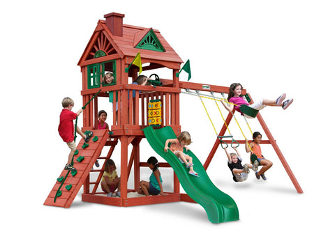 Nantucket Gorilla Swing Set - Swings and More