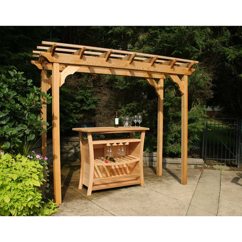 Creekvine Designs Cedar New Dawn Pergola - Swings and More