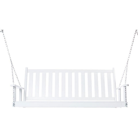 Dixieseating Burlington Porch Swing - 5 ft. flat slat seat - Swings and More