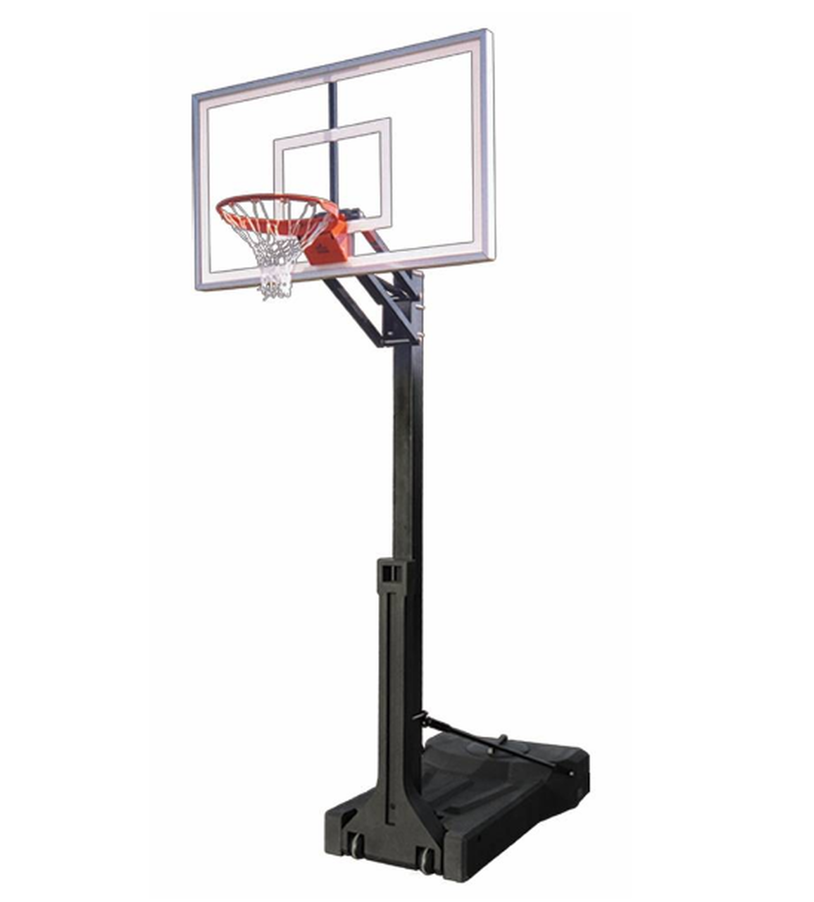 "First Team OmniChamp II Portable Adjustable Basketball Hoop 36""x48"""