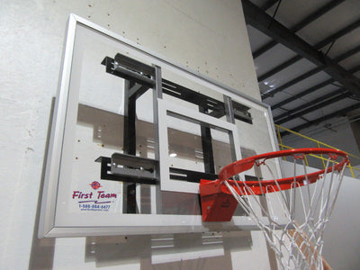 First Team PowerMount Aggressor Wall Mount Basketball Hoop