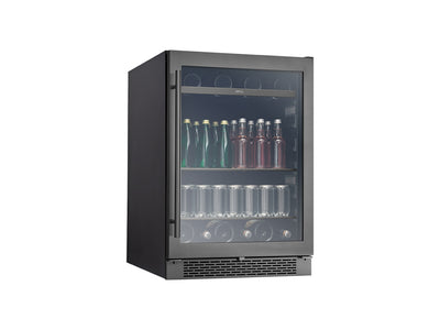 "Zephyr 24"" Single Zone Wine Cooler – Black Stainless"
