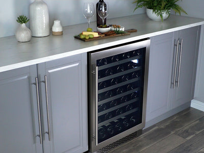 "Zephyr 24"" Single Zone Wine Cooler - Swings and More"