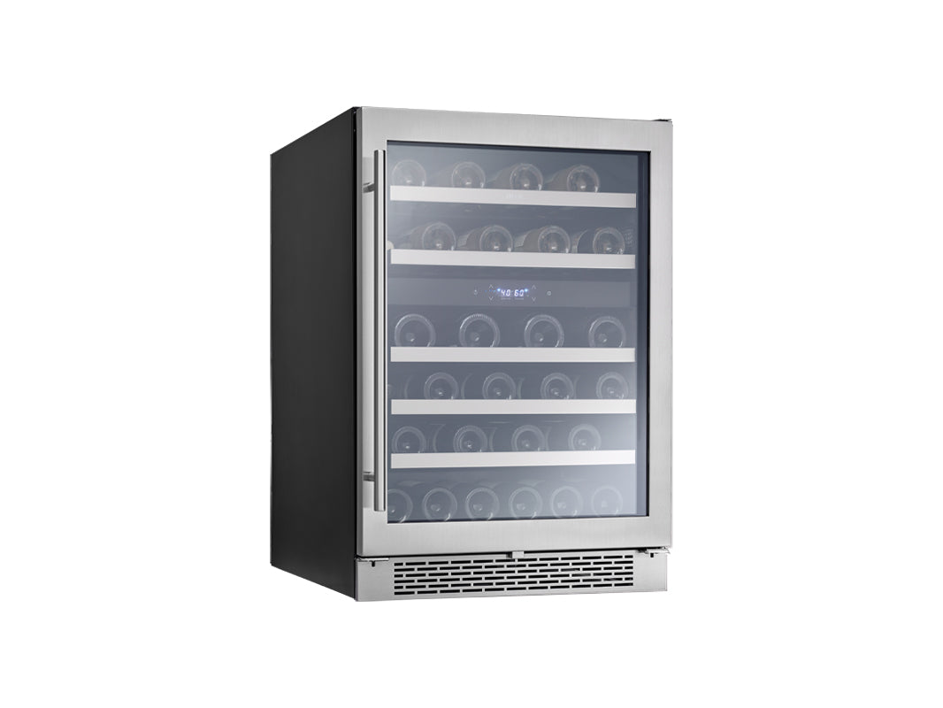 "Zephyr 24"" Dual Zone Wine Cooler - Swings and More"