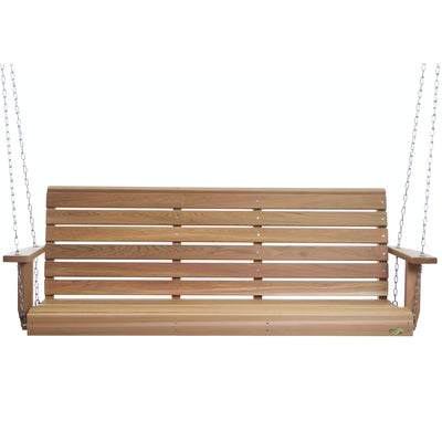 Porch Swing 6' With Comfort Springs - Swings and More