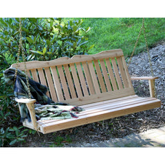 Creekvine Desings Cedar Countryside Porch Swing