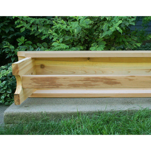 Creekvine Designs 5' Cedar 1805 Traditional Heavy Duty Bench - Swings and More