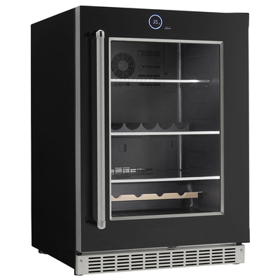 "Danby Silhouette Series Reserve 24"" Build-In Refrigerator Black - Swings and More"