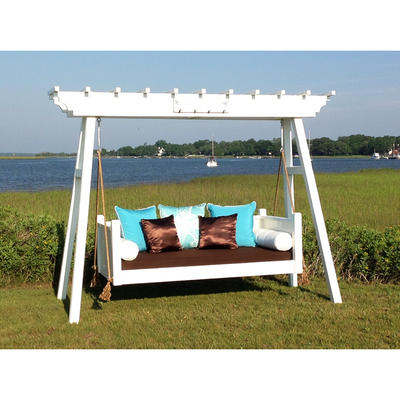 The Southern Savannah Porch Swing Bed - Swings and More