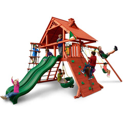 Gorilla Sun Palace Extreme Swing Set - Swings and More