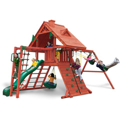 Gorilla Sun Palace II Swing Set - Swings and More