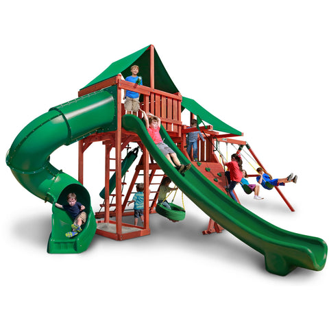 Sun Valley Deluxe Gorilla Swing Set - Swings and More