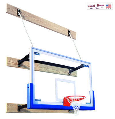First Team SuperMount23 Tradition Wall Mount Basketball Hoop